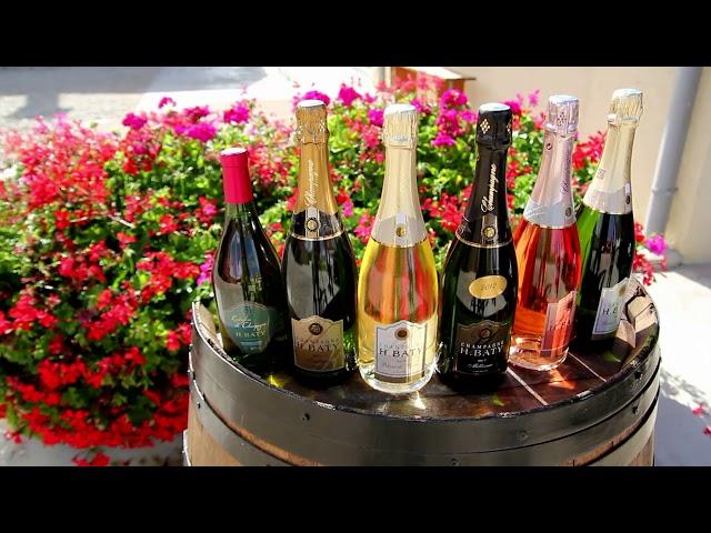 Le Champagne H BATY un fleuron des Coteaux Vitryats de Bassuet.
