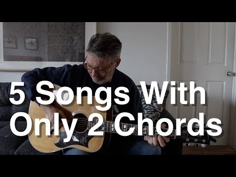 5 Songs with Only 2 Chords | Tom Strahle | Easy Guitar | Basic Guitar