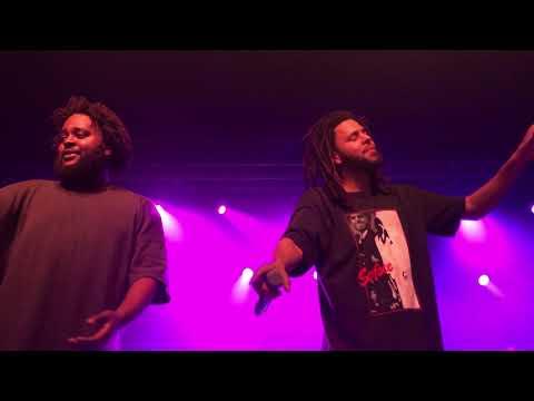 10 - Lit - Bas & J. Cole (Over Time: Dreamville All-Stars - Live Charlotte, NC - 2/17/19)