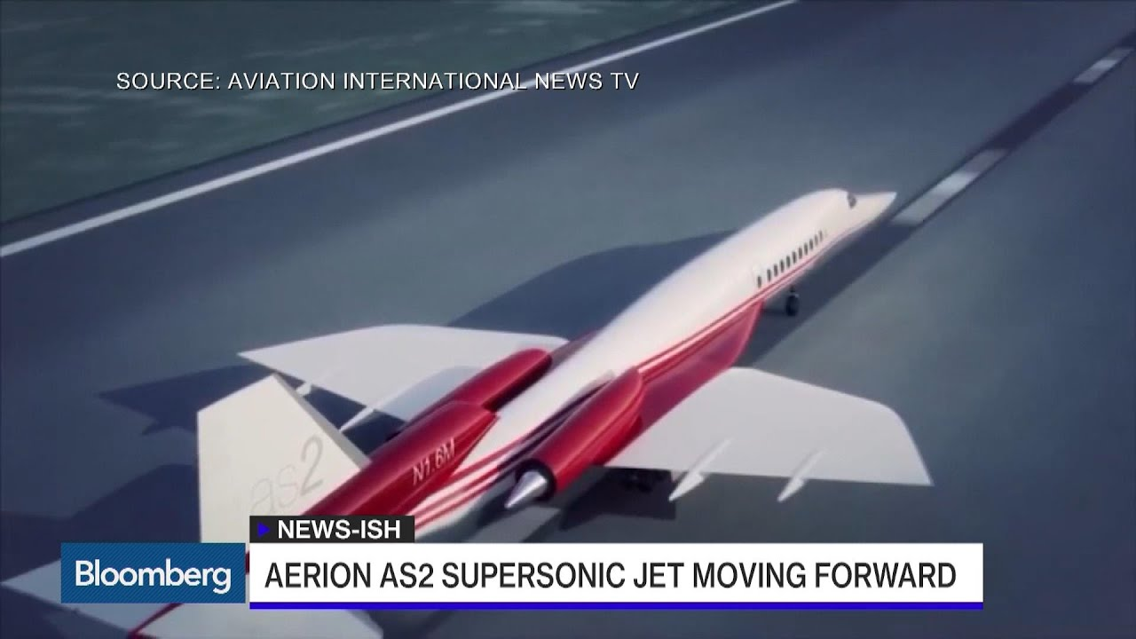 This Supersonic Private Jet Goes From London to New York in 4 1/2 Hours