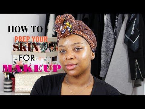 How to Prep Your Skin For Makeup/ My Skincare Routine | Joycie Titan