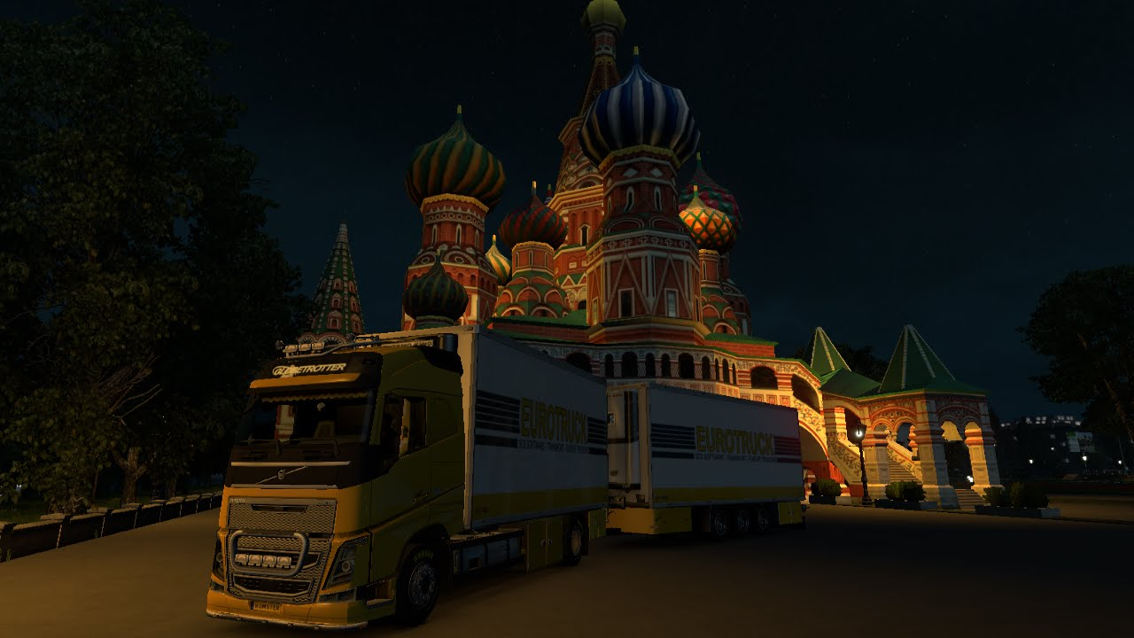 Ets 2 Rus Map 1 6 3 Southern Region Map V 5 0 0 Beta 1 23 Youtube