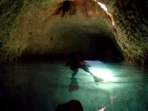 Underground River Snorkleing At Xcaret In Cancun