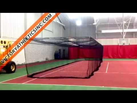 Standard Retractable Batting Cage Netting