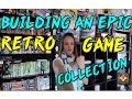 Building an EPIC RETRO GAME COLLECTION | TheGebs24