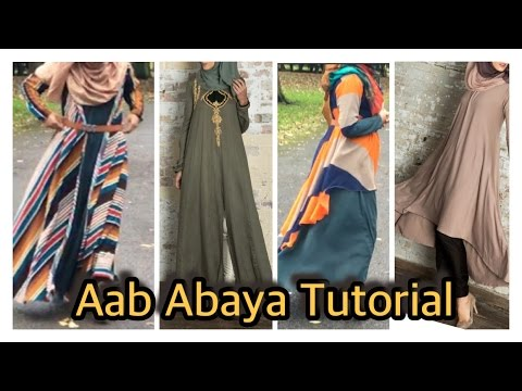 DIY: Aab Inspired Abaya| One Way To Make 5 Designs| Bobiz Kollection