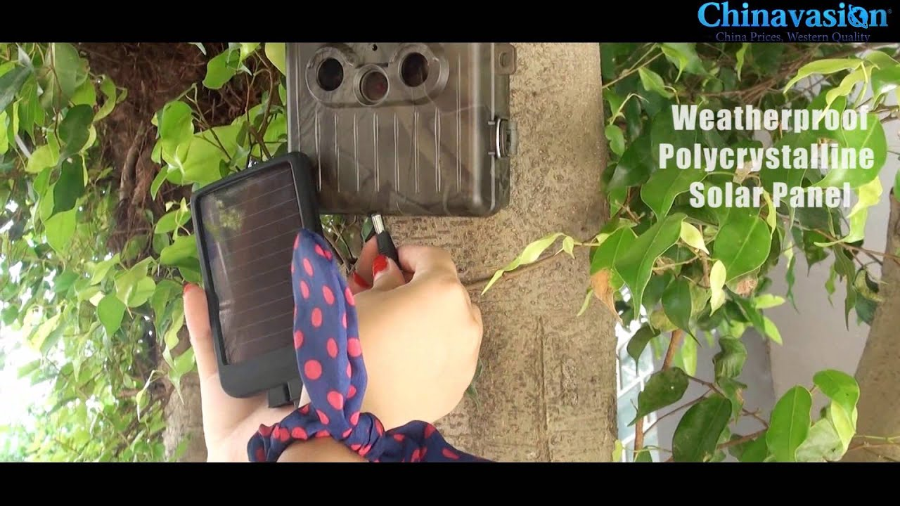 Game Camera With Rechargeable Battery Solar Panel Youtube Deer Feeder Charger On Wiring