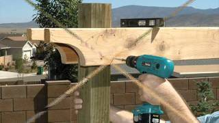 How to build a pergola step by step