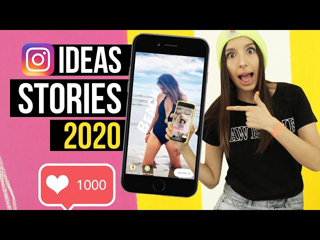 8 TRUCOS E IDEAS PARA TUS STORIES EN INSTAGRAM 2020- GIFS - FOTOS - VIDEOS