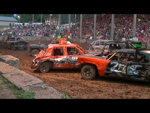 CARROLL COUNTY FULL SIZE DEMOLITION DERBY 2018