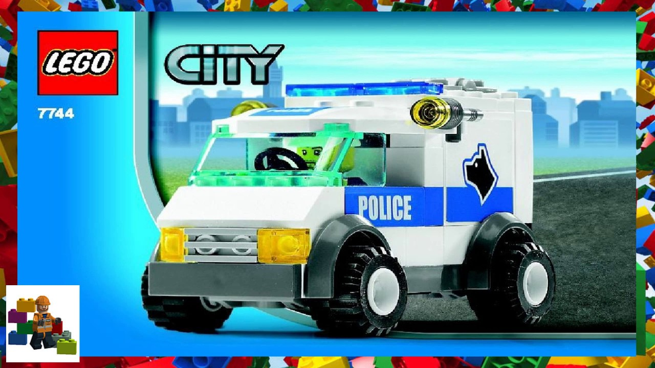 Lego Instructions City Police 7744 Police Headquarters Book