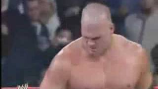 Kane Attacks Booker T