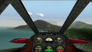 Crimson Skies Playthrough (PC) Mission 1 HARDEST mode (The lost treasure)