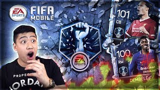 FIFA MOBILE 18 WILD RECORD BREAKER BUNDLE OPENING!! FIRE PULLS!!