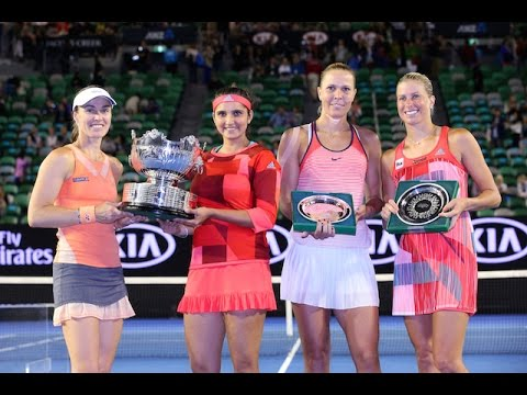 Hingis/Mirza v Hradecka/Hlavackova highlights (F) | Australian Open 2016