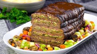 Rouladen Schichtbraten Rezept zum Mittag bringt herzhafte Hausmannskost auf den Tisch