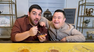 OH BABY! IT'S TΗE BABY FOOD CHALLENGE