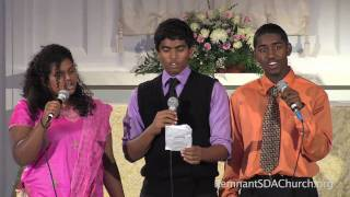 """You Are The One That We Praise"" sung by Anisha, Asher and Cheeko"