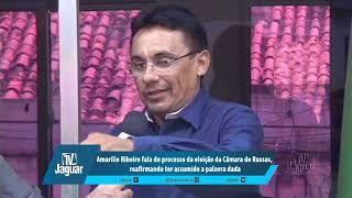 Amarílio fala do processo da eleição da Câmara de Russas, reafirmando ter assumido a palavra dada.
