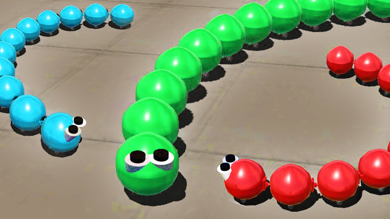 Slither Io 3d