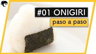 Recetas japonesas Como preparar Onigiri  Cocina Japonesa con Taka Sasaki