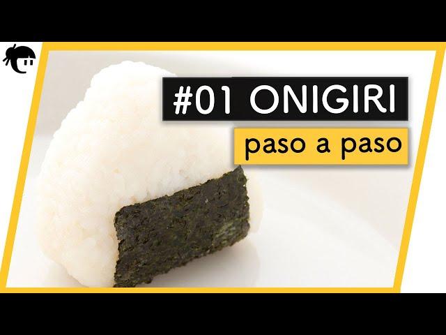 ???? Recetas japonesas: Como preparar Onigiri / Cocina Japonesa con Taka Sasaki ????