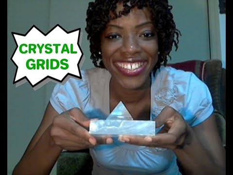 Crystal Grids: How I Make Crystal Grids, Why I Love & Use Crystal Grids(TIPS)