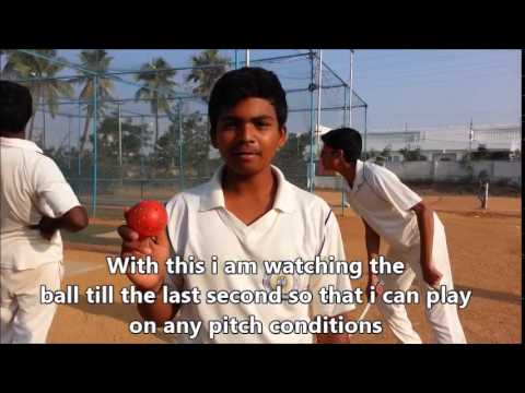 U-14 Cricket Player Review on Spingball