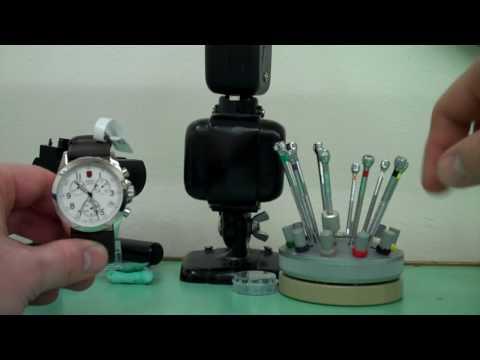 How to reset a modern quartz chronograph- thewatchmaker.com