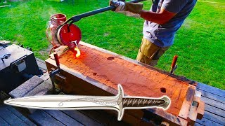 Making Lord Of The Rings Sword STING
