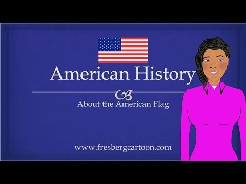 Watch Cartoons Online: United States Flag: Educational Video for Students/Children: American History