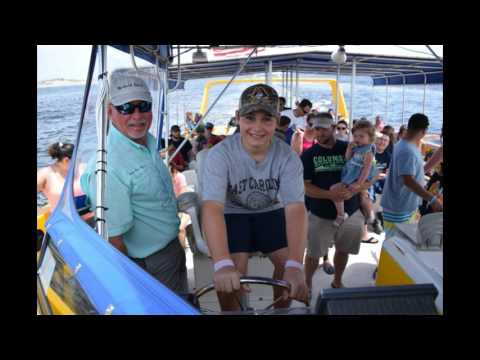Sea Screamers 2nd group Little Captian's on June 13, 2017
