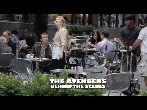 THE AVENGERS - Behind The Scenes (w/ STAN LEE & Captain America)