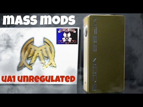 Mass Mods UA1 Unregulated Box Mod Review | Innovation at its FINEST!!!