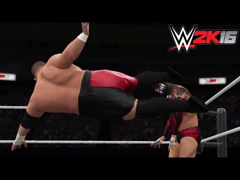 WWE 2K16 Top 10 Moves of Samoa Joe! Future Stars DLC Pack! (PS4)