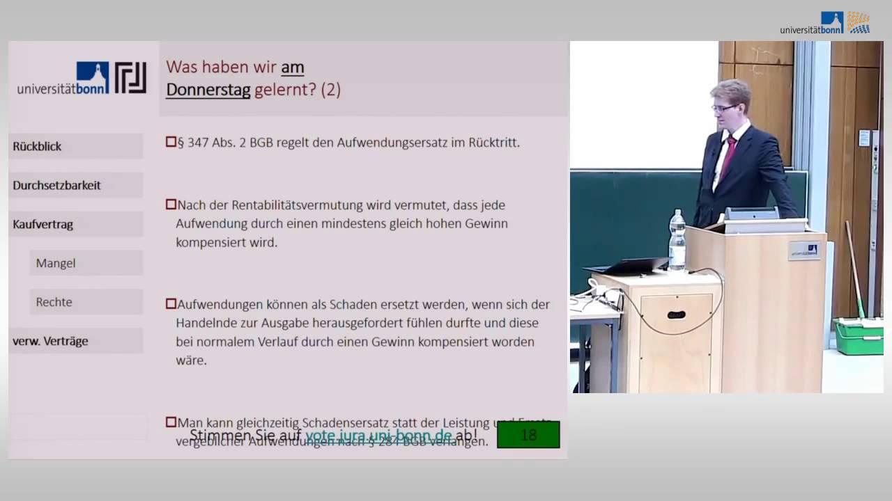 Kaufvertrag Verwandte Verträge Schuldrecht Vorlesung 22 Youtube