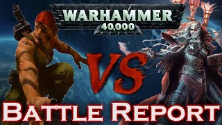 Sisters Of Battle Vs Imperial Guard Warhammer 40k Battle Report
