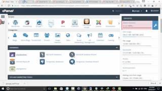 Restore website lên hosting cpanel
