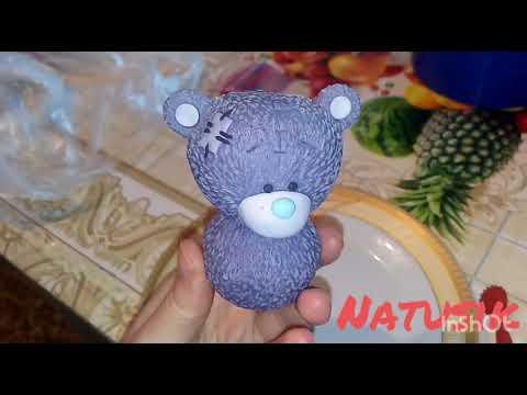 Медведь Тедди Teddy Bear из мастики