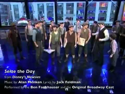 2012 Tony Nominees  Best Musical  Newsies  Seize the Day and Santa Fe