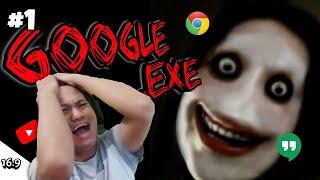 INI BUKAN GAME SEMBARANG GAME!!!! Google EXE Part 1 [SUB INDO] ~Berani Nonton?! Hati2 Di belakang!!