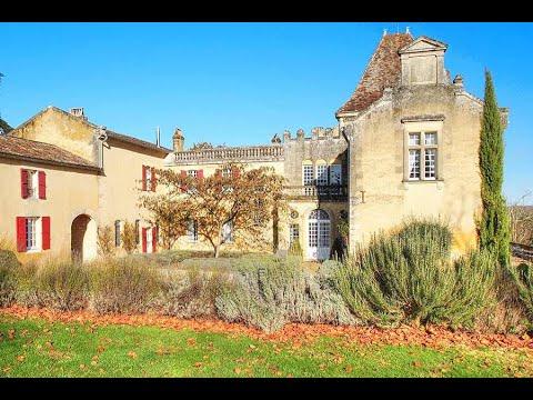 Splendid Chateau & 7 Cottages For Sale  In Dordogne