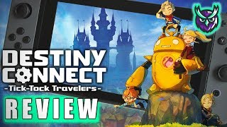 Destiny Connect Switch Review - If Disney Made A JRPG (Video Game Video Review)