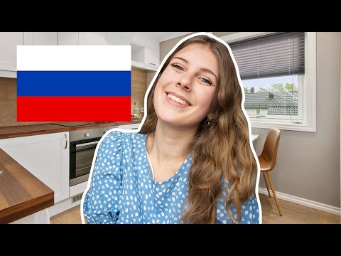 British girl LIVING IN RUSSIA: day in my life