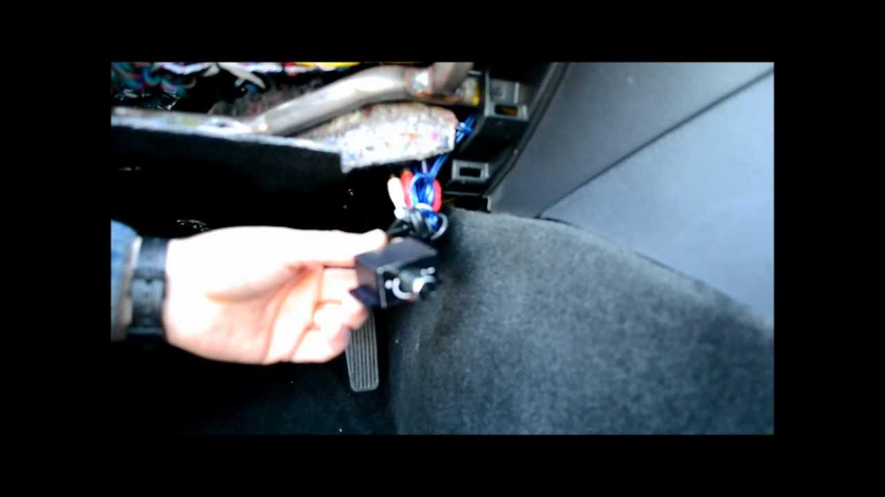 How to add a sub woofer remote bass knob to any stereo