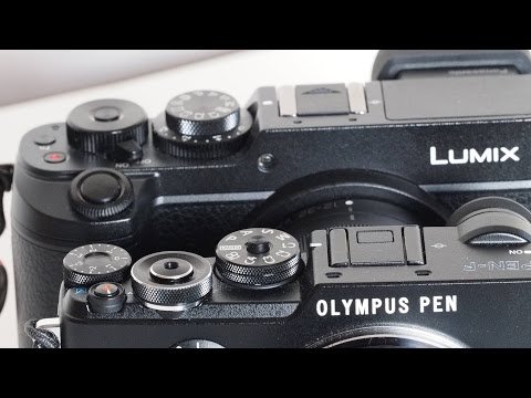 The Olympus Pen F Compared To The Panasonic GX8