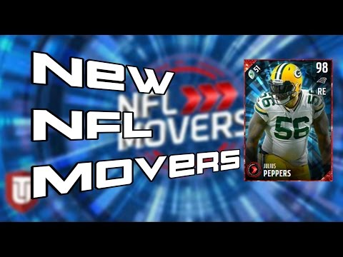 NEW NFL MOVERS JULIUS PEPPERS!!!! | MUT 17 NFL MOVERS!!!!