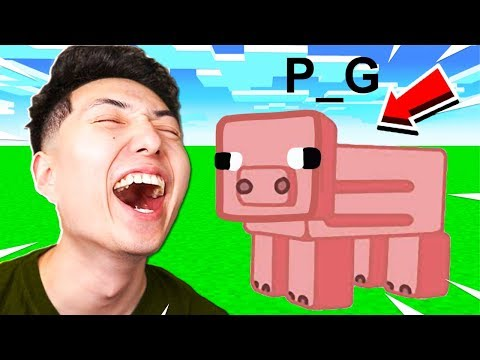 THE WORST MINECRAFT DRAWINGS EVER!