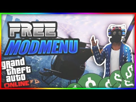 FREE GTA 5 MOD MENU! PR!NT MENU AFTER 1 46!