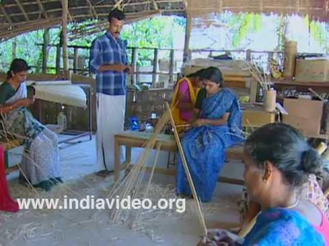 Bamboo crafts from Uravu